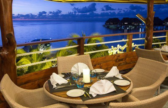 Arii Vahine Restaurant at Hilton Moorea Lagoon Resort & Spa