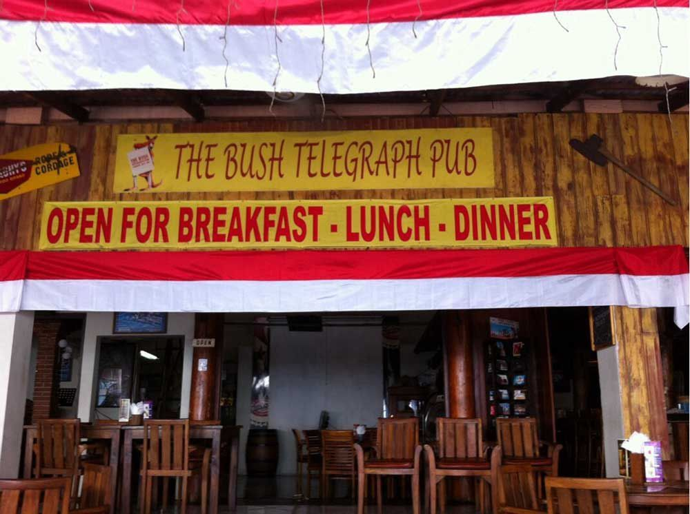 The Bush Telegraph Pub