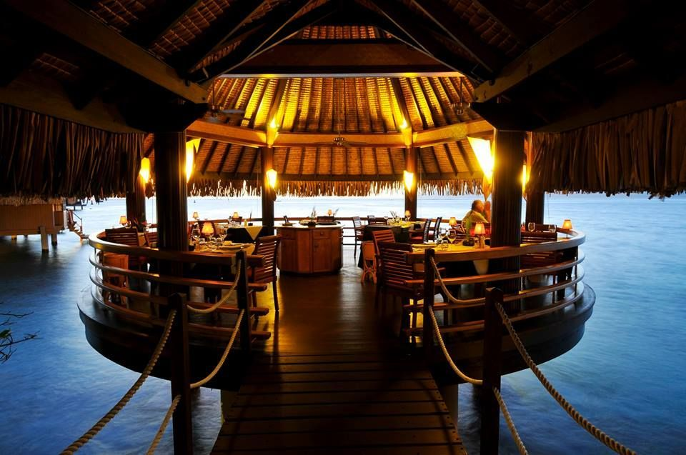 Le Lotus Restaurant at InterContinental Tahiti Resort & Spa